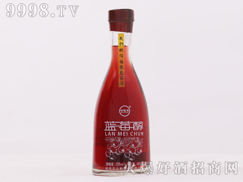 佰福园蓝莓醇酒35°400ml