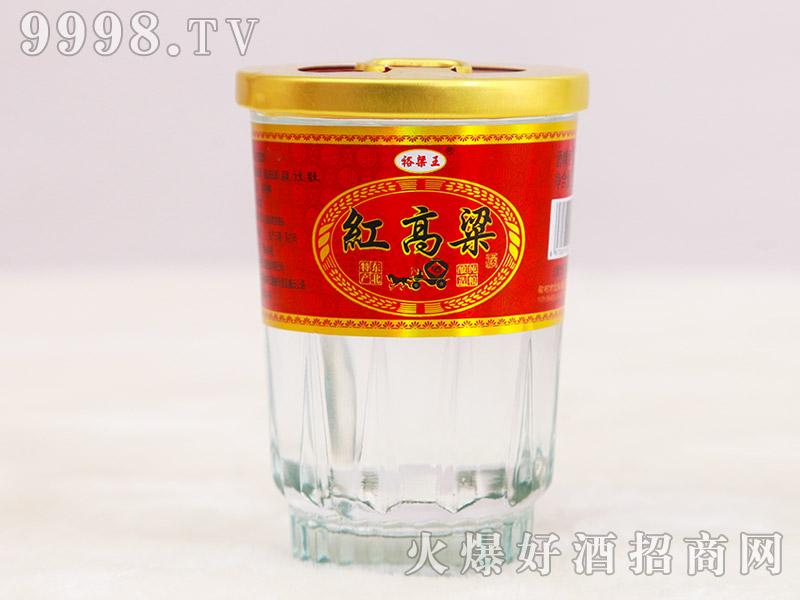 裕梁王红高粱酒42°125ml浓香型白酒