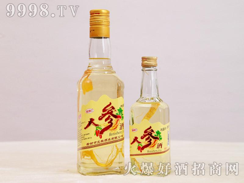 醇源玖人参酒42°500ml小帅、240ml